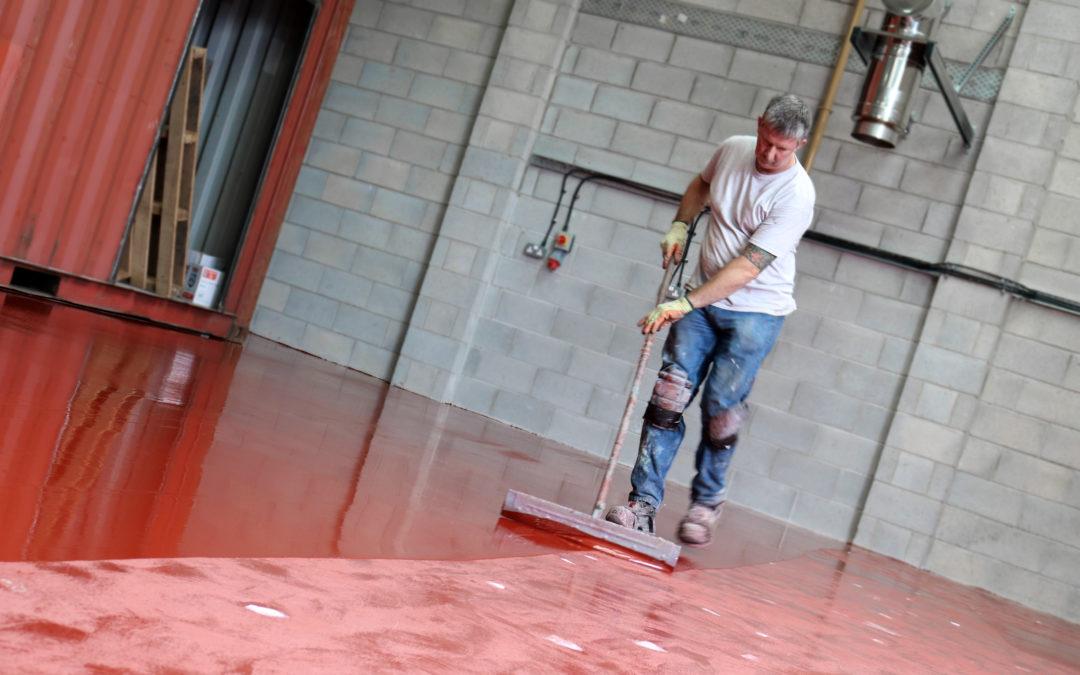 New Flooring System at Heartland Coffi, Llandudno